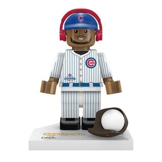 Chicago Cubs 2016 World Series Champions Dexter Fowler #24 Minifigure - Multi