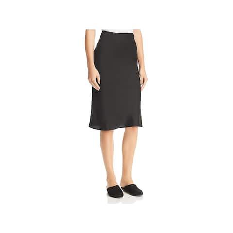 Eileen Fisher Womens A-Line Skirt Silk Knee-Length