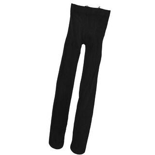 Unique Bargains Ladies Elastic Full Footed Tights-Fitting Leggings Pantyhose XS Black