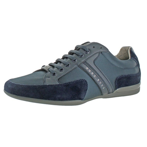 Hugo Boss Spacit Men's Leather Fashion Sneakers Shoes