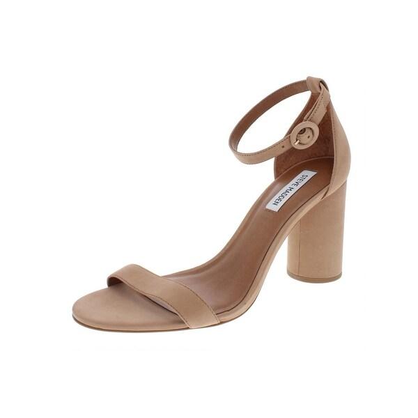 21c5d977676 Shop Steve Madden Womens Shanna Dress Sandals Nubuck Heels - Free ...
