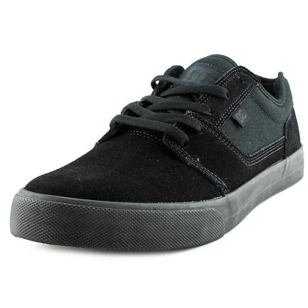 DC Shoes Tonik Men Round Toe Suede Black Skate Shoe