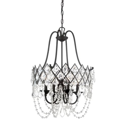 Designers fountain 90331 ravina 4 light 20 wide single tier mini designers fountain 90331 ravina 4 light 20 wide single tier mini chandelier with crystal accents free shipping today overstock 23435175 aloadofball Images