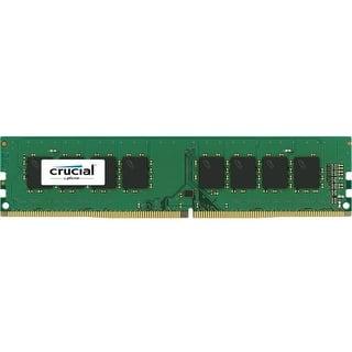 Crucial CT4G4DFS8213 Crucial DDR4 Server Memory - 4 GB (1 x 4 GB) - DDR4 SDRAM - 2133 MHz DDR4-2133/PC4-17000 - 1.20 V - ECC -|https://ak1.ostkcdn.com/images/products/is/images/direct/4e70d5344102336dc699fd69ad833dceaa134f3e/Crucial-CT4G4DFS8213-Crucial-DDR4-Server-Memory---4-GB-%281-x-4-GB%29---DDR4-SDRAM---2133-MHz-DDR4-2133-PC4-17000---1.20-V---ECC--.jpg?impolicy=medium