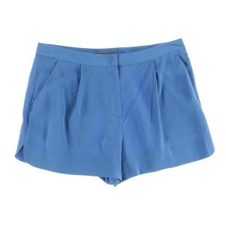 Vince Womens Silk Solid Casual Shorts - 10