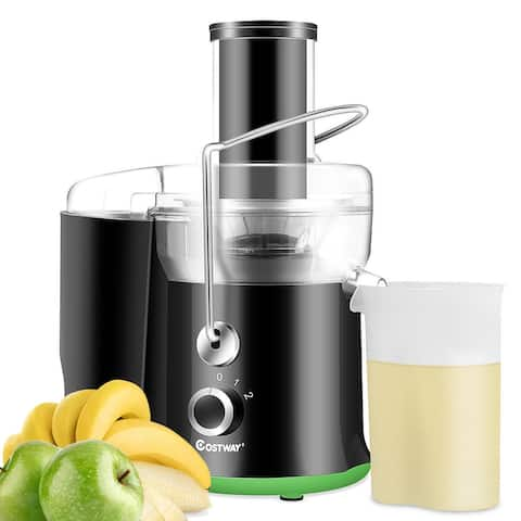 Costway Electric Juicer Wide Mouth Fruit & Vegetable Centrifugal Juice