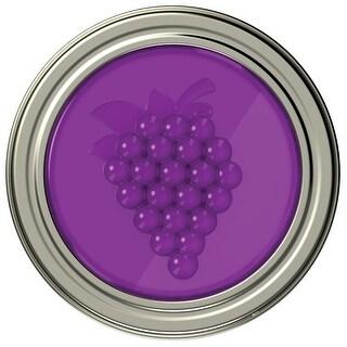 Jarware 82630 Grape Jelly/Jam Decorative Jar Lid, Regular Mouth, 4/Pack