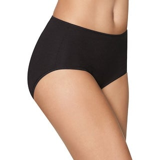 Hanes Smooth Illusions Brief Panties 3-Pack - 8