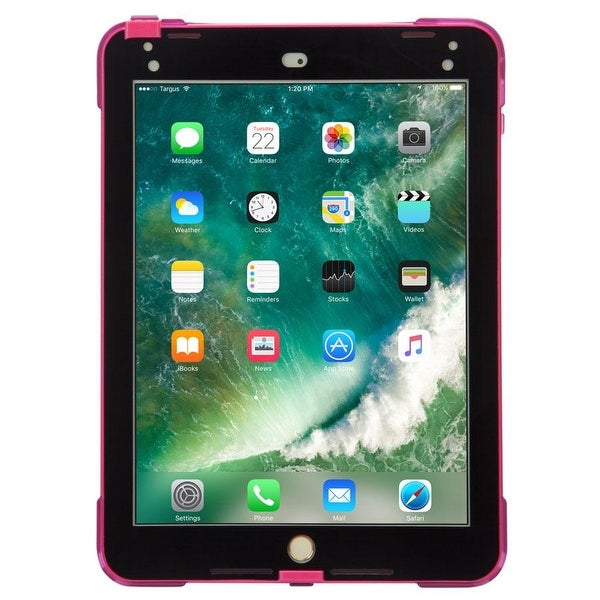 Targus SafePort Rugged Case for iPad (6th gen./5th gen.), iPad Pro (9.7-inch), and iPad Air 2 (Pink). Opens flyout.