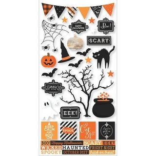 """Simple Sets Happy Haunting Cardstock Stickers 6""""X12""""-"""