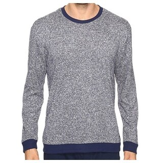 Kenneth Cole Reaction NEW Blue Mens Size Medium M Crewneck Sleep Sweater