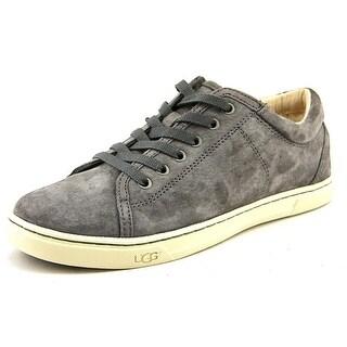Ugg Australia Tomi Women Round Toe Suede Gray Sneakers