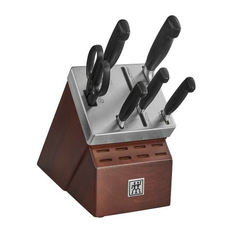 ZWILLING J.A. Henckels Four Star 7-pc Self-Sharpening Block Set - Stainless Steel