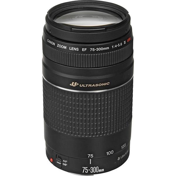 Canon EF 75-300mm f/4-5.6 III USM Lens (International Model)