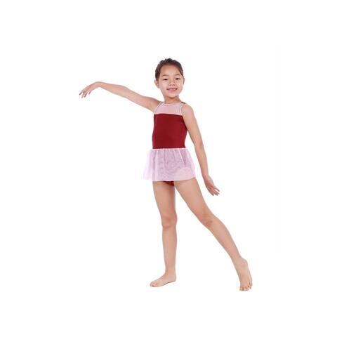Veva by Very Vary Little Girls Wine Rosa Dance Dress