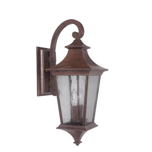 Jeremiah Lighting Z1364 Argent II 2 Light Outdoor Wall Sconce - 8 Inches Wide