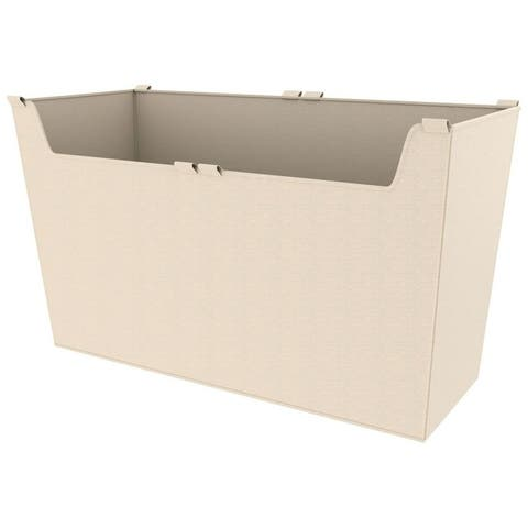 "Rev-A-Shelf CBLSL-301417-1 Sidelines 30"" Wide x 17"" High Cloth Basket - Tan"