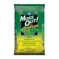 Lilly Miller 100508946 Moss Out Plus Fertilizer, 20-0-5, 20 Lbs
