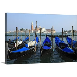 """Saint Mark's Canal, Venice, Veneto, Italy"" Canvas Wall Art"