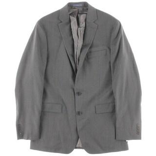 Ryan Seacrest Mens 400 Wool Notch Lapel Two-Button Suit Jacket - 40L