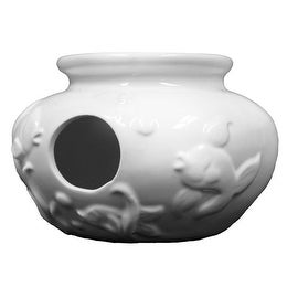 Ceramic Ready To Paint Fishbowl Birdhouse by Plaid