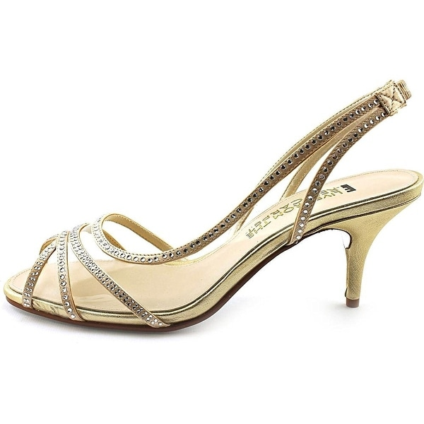 E! Live From The Red Carpet Womens Inez Open Toe Ankle Strap D-orsay Pumps - 6.5