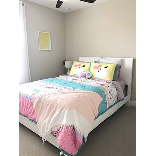 Mi Zone Kids Wriggle Multi Printed 4-piece Comforter Set