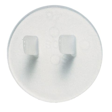 Leviton Clear Outlet Safety Caps 12 pk