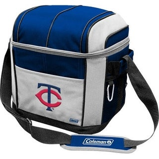 Coleman 24 Can Soft Sided Cooler - Minnesota Twins - Blue/Gray