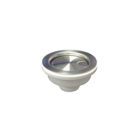 """Transolid 3.5-in Covered Flip-Top Sink Strainer - 4.65"""" x 4.65"""" x 2.5"""""""
