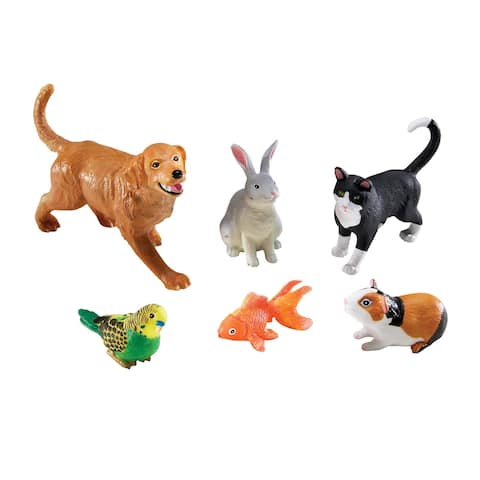 Learning Resources Jumbo Pets, Set of 6