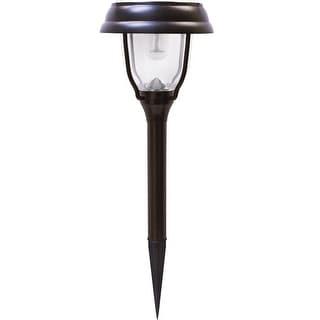 Gama Sonic GS-145 Solar-Powered LED Garden Stake, Black