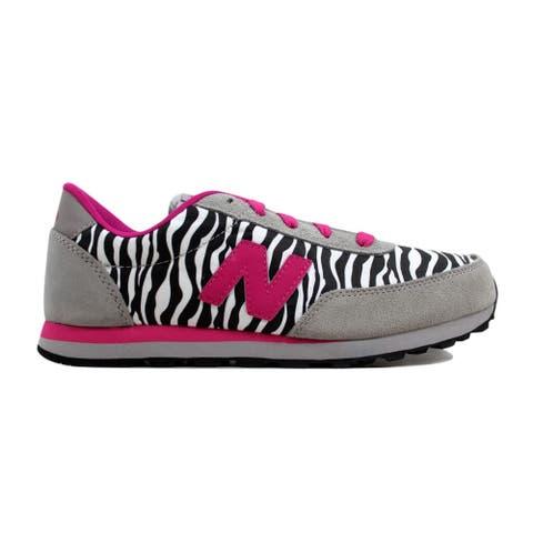 New Balance Grade-School 501 Classic Grey/Pink Zebra KL501ZBY