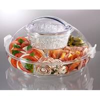 Prodyne CB5 Iced Up Appetizers to Go Carry and Serve Tray
