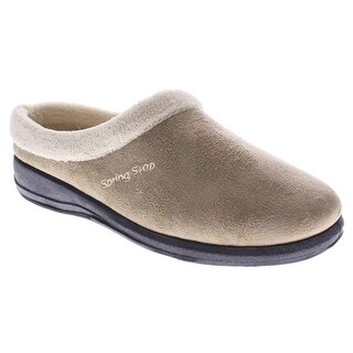 Women's Ivana Clog-Style Suede Slippers (4 options available)
