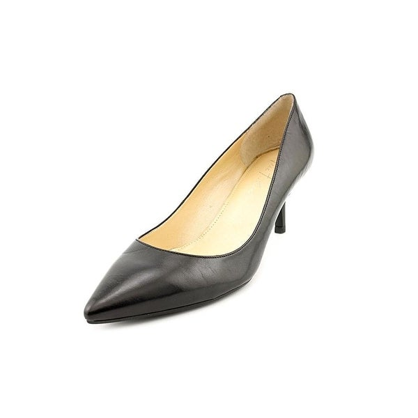 Marc Fisher Womens PACCA2 Leather Pointed Toe Classic Pumps