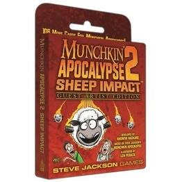 Munchkin Apocalypse Expansion 2 Sheep Impact: Guest Artist Edition by Len Peralta