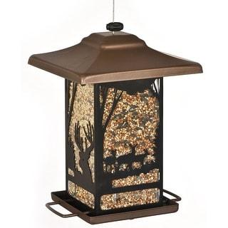Perky Pet 8504-2 Wilderness Lantern Wild Bird Feeder, Metal