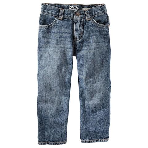 OshKosh B'gosh Big Boys' Classic Jeans, Tumbleweed, 12 Regular