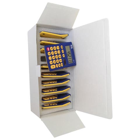 School Smart Primary Calculators, 4 x 5-1/2 Inches, Pack of 10