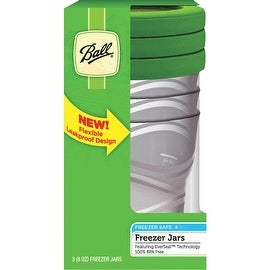 Ball 8Oz Plastic Freezer Jar