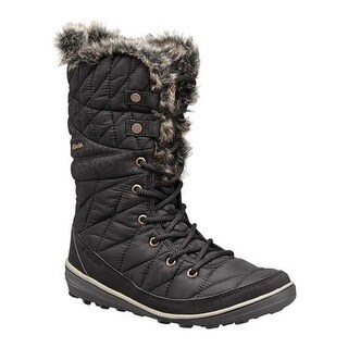 Columbia Women's Heavenly Omni-HEAT Boot Black/Kettle Textile