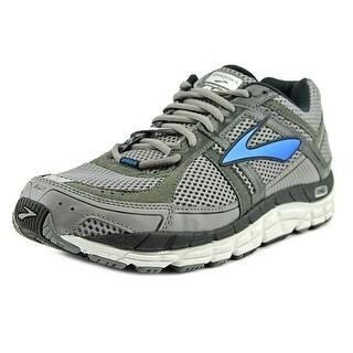 Brooks Addiction 12 Men  Round Toe Synthetic Gray Running Shoe