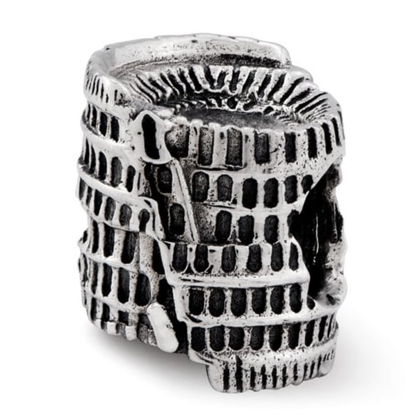 Sterling Silver Reflections Colosseum Bead (4mm Diameter Hole)