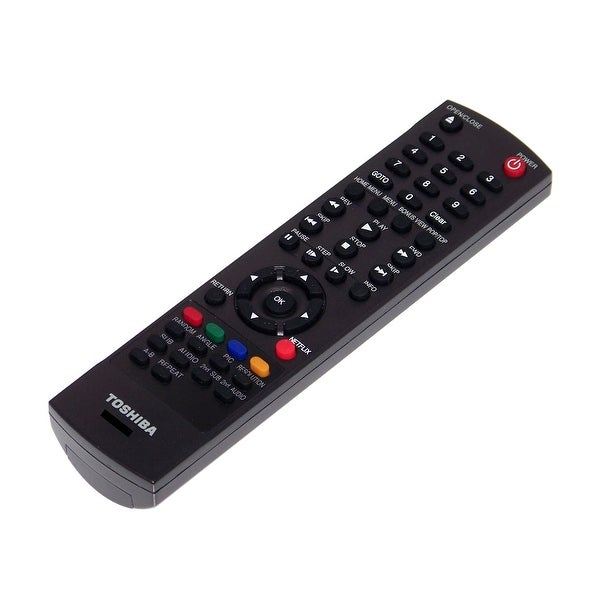 OEM Toshiba Remote Control Originally Shipped With: BDK21, BDK21KU, BDX2250, BDX2250KC, BDX2150KU, BDX2200