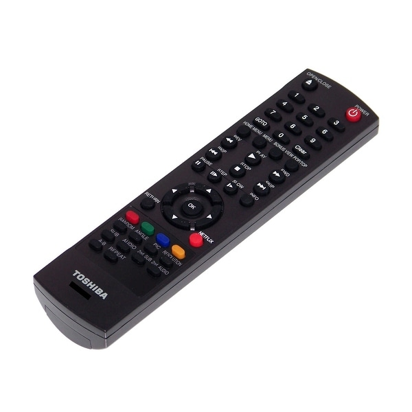 OEM Toshiba Remote Control Originally Shipped With: BDX2250KU, BDX4150, BDX2150, BDX2150KC, BDX5200, BDX5200KU