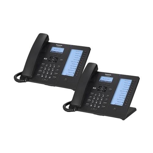 """Panasonic KXHDV230B (2-Pack) KX-HDV230 Executive SIP Phone"""