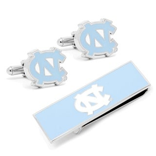 University of North Carolina Tar Heels Cufflinks / Money Clip Gift Set - Blue
