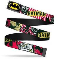 Batman Fcg Black Yellow Black Frame Batman Caped Crusader Webbing Web Web Belt