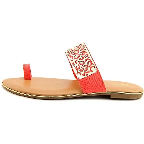 Bar III Womens Vienna Open Toe Casual Slide Sandals